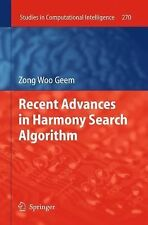 Recent Advances in Harmony Search Algorithm 270 by Zong Woo Geem (2012,...