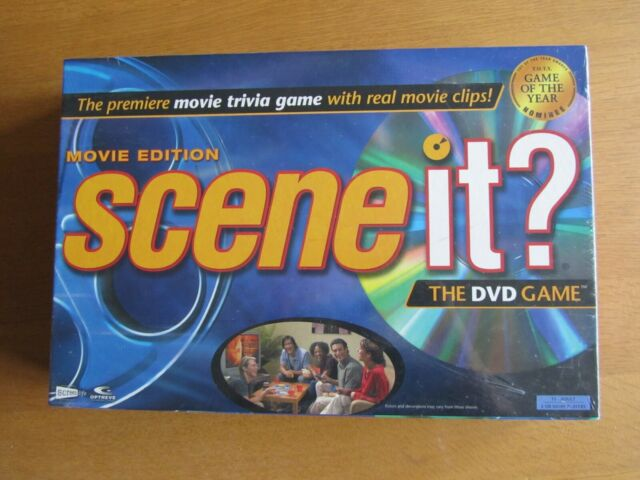 Scene It? Movie Edition - The DVD Game.  New And Sealed