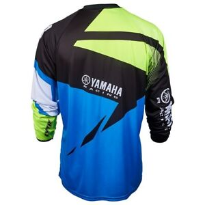 Motocross JERSEY YAMAHA Racing Xtreme Sport Off-Road Clothing Quick Dry Function