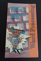 Word Processing The Komputer Tutor Vhs Tape Word Perfect Microsoft 1993