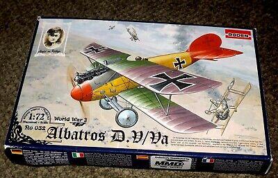 Albatros D.V//D.Va von Roden in 1//72