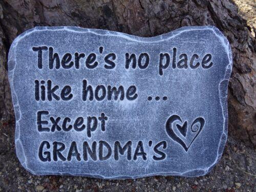 """Grandma/'s plaster concrete mold mould 11/"""" x 7/"""" x .75/"""" thick"""