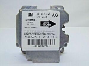 Original-GM-Siemens-Airbag-Steuergeraet-fuer-Opel-Corsa-B-90-532-443-1923594