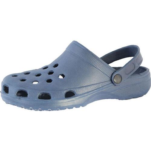 Unisex Womens Mens Classic Beach Shoe Clogs Shower Mules Slip On Mules UK 4-12
