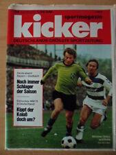 KICKER 26 -1.4. 1975 * Bayern-Gladbach Eishockey WM 75 1.FC Saarbrücken-Poster
