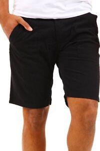 Pantaloni-Corti-Uomo-Shorts-ABSOLUT-JOYMarrone-Scuro-B074-Tg-M