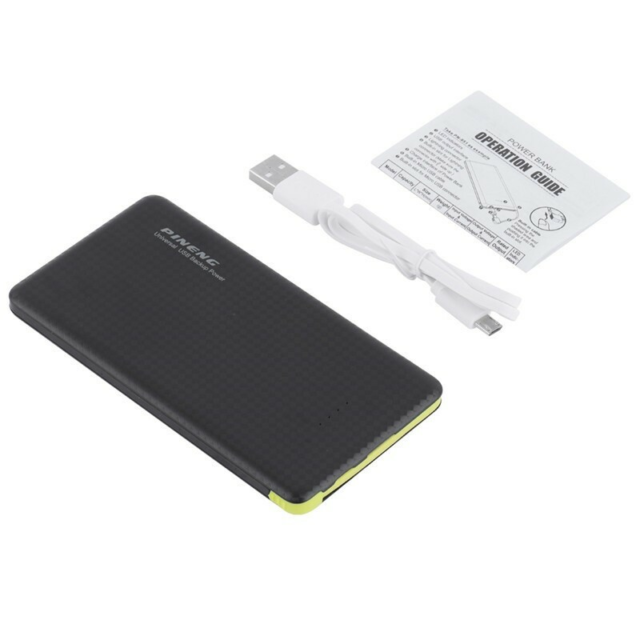 Oplader, Powerbank 10000 mAh iphone og Android, Den passer…