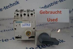 Siemens-3VF3111-2BL41-0AA0-Coupe-Circuit-Disjoncteur
