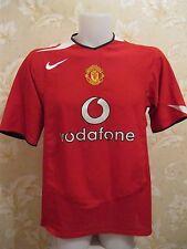 Manchester United 2004/2005/2006 Sz L Home Nike shirt jersey maglia Ronaldo era