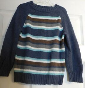 Boys Gymboree Long Sleeve Pullover Sweater Size Xs Or 4 Boy S Gray