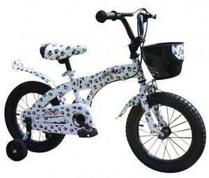 12 zoll kinderrad jungen m dchen fahrrad st tzr der dalmatiner optik 3 5 jahre ebay. Black Bedroom Furniture Sets. Home Design Ideas