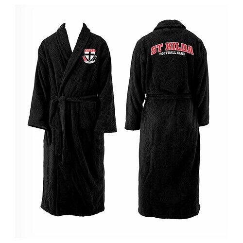 North Melbourne Kangaroos AFL Youth Kids Dressing Gown Bath Robe Medium Gift