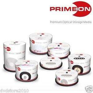 PRIMEON-DVD-CD-R-R-DL-Cake-Box-Print-Stampabili-BD-BluRay-Dual-Layer-Inkjet