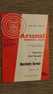 1965-66-Football-League-ARSENAL-v-BLACKBURN-ROVERS-23rd-October