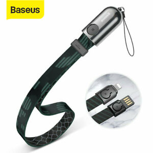 Baseus-USB-Charger-Cable-Lanyard-Data-Cord-for-iPhone-11-Pro-XS-Max-8-7-6s-Plus
