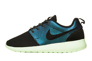 f5630f855b63 Nike Womens Roshe Run One WWC World Cup QS Teal Black 808708-303 5.5 ...