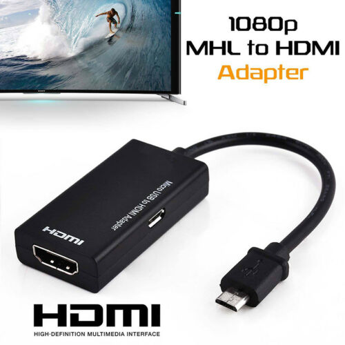 Universal Mhl Micro Usb To Hdmi Cable 1080 P Hd Tv Adapter For Android Phones