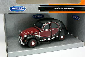 Welly-1-24-Citroen-2CV-6-Charleston