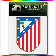 """Club Atletico de Madrid UEFA Die Cut Vinyl Sticker Car Bumper Window 4""""x2.9"""""""