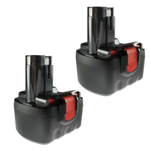 2x Batterie haute performance 12 V 3000 mAh Ni-MH pour Bosch Bat 049 260733542 9 2607335676