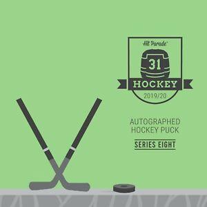 Hit-Parade-19-20-Autographed-Hockey-Puck-Series-8-Random-Team-Box-Break-1