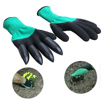 10Pcs plastic garden claws for digging planting work devil glove halloween/'pa/_EC