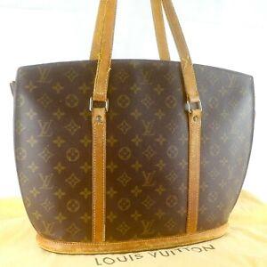 LOUIS-VUITTON-BABYLONE-Tote-Bag-Shoulder-Purse-Monogram-M51102-Brown