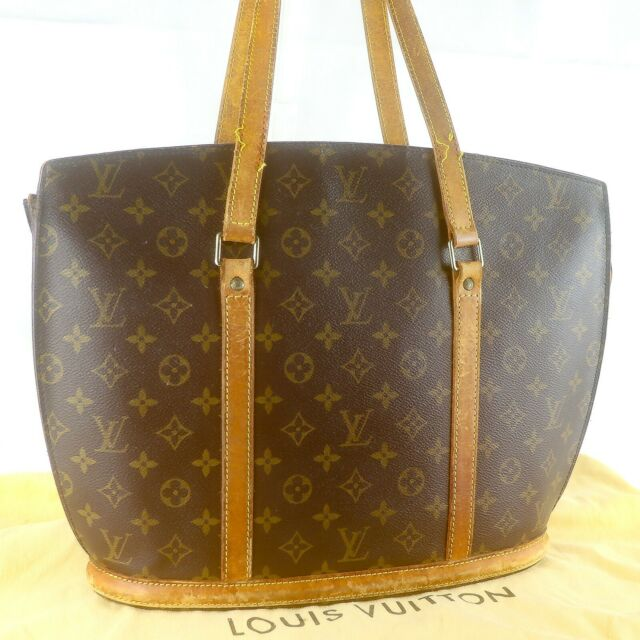 LOUIS VUITTON BABYLONE Tote Bag Shoulder Purse Monogram M51102 Brown