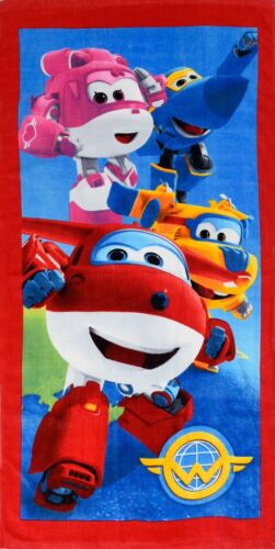 EXTRA LARGE New Super Wings Beach Bath Towels Girls Boys Child Kids Holiday Gift