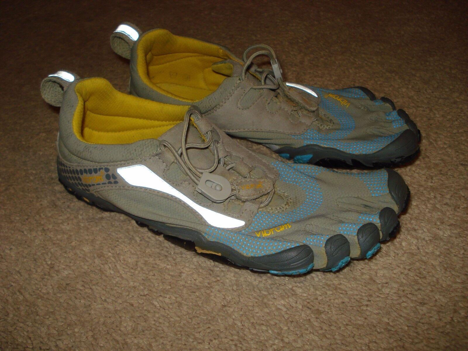 Vibram Bikila Gray Damens Größe 6 Gray Bikila Toe Schuhe 88c099