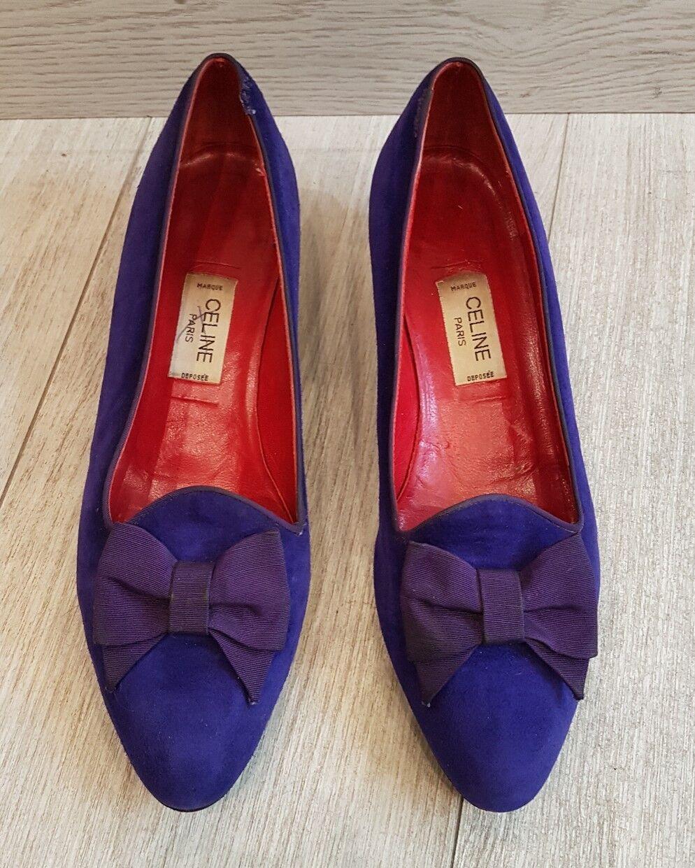 Vintage celine loafers-heel 3 cm size 38 celine shoes