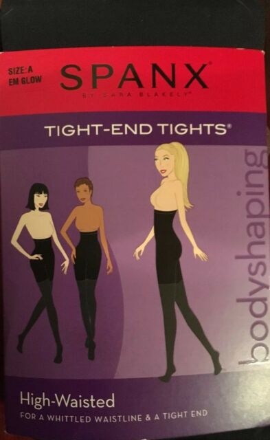 Spanx New Tight End Tights Black And Gold Patterned Metallic Luxe Size C New