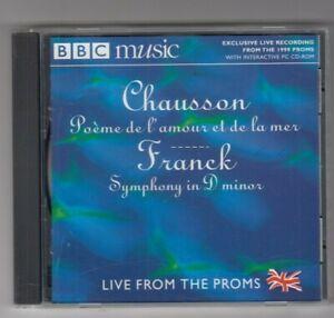 Details About Bbc Cd Chausson Poème De Lamour Et De La Mer Franck Symphony In D Minor
