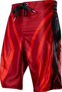 Fox Racing WIFI TECH Boardshort RED Swim Trunks SURF Board Shorts ... bb556c7c6