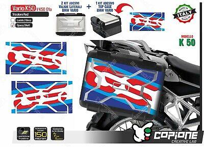 BMW R1200 GS Pannier ADV Vario 7503-0119B Vinyl Decal Sticker 200mm Bevel