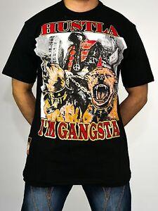Caricamento dell immagine in corso Hustla-Gang-T-Shirt-Time-Is-Money-Urban- 181913032124