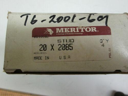 20X2085 **NOS** Meritor Lot Of 4 Rockwell Wheel Stud 20 X 2085