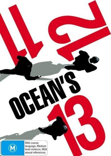1 of 1 - Ocean's 11  / Ocean's 12  / Ocean's 13 (DVD, 2007, 3-Disc Set)