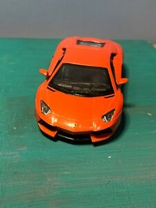 "New 5/"" Kinsmart Lamborghini Aventador LP700-4 Diecast Model Toy Car 1:38 White"