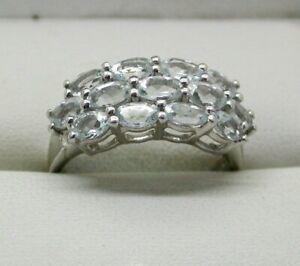 Sterling-Silver-Espirito-Santo-Aquamarine-Dress-Ring-Size-R-1-2