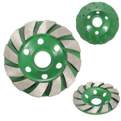 100mm Diamant Schleifscheibe Disc Bowl Form Schleifen Tasse Betonstein  PNE