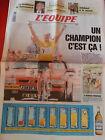 journal l'équipe 17/07/96 CYCLISME TOUR DE FRANCE 1996 BJARNE RIIS INDURAIN