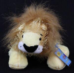 Webkinz-Lion-Plush-HM006-Ganz-Gold-Yellow-New-Sealed-Code-8-034
