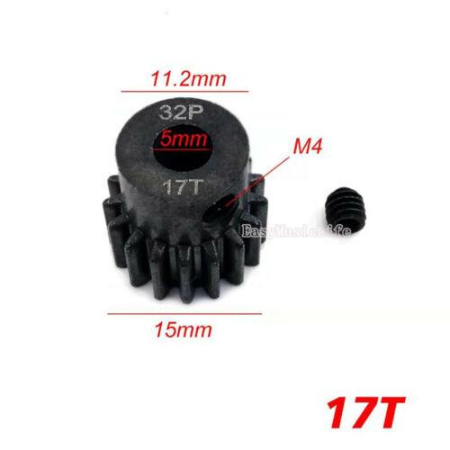 54T//15T 17T 19T 32P Steel Motor Spur Gear for1//10 Traxxas Slash AXAIL90025 90026