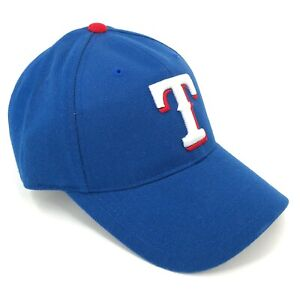 Texas-Rangers-Adjustable-Outdoor-Cap-Hat-Youth-Adult-Sizes-Blue-White-T-Logo