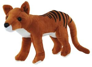 New Australian Standing Tasmanian Tiger Soft Stuffed Animal Plush