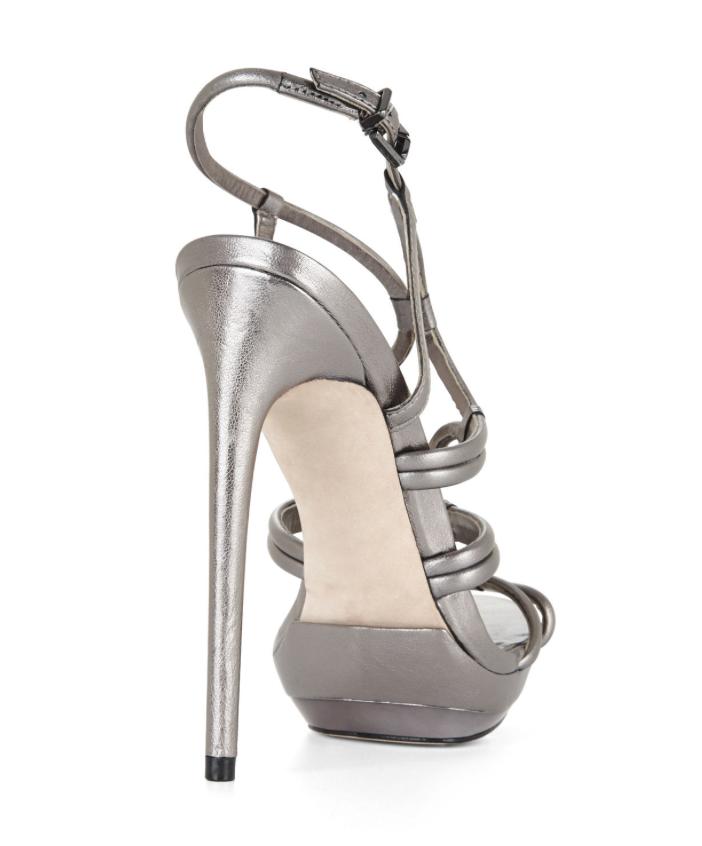 BCBGMAXAZRIA Farrow M High-Heel Strappy Dress Sandal 4640 Größe 7 M Farrow 4c100a