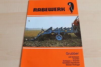Krümler Dynamic 144588 Prospekt 04/1985 100% Guarantee Rabewerk Grubber Mit Schleppe