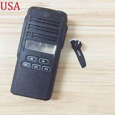 motorola cp185. black replacement kit front case housing for motorola cp185 portable radios cp185