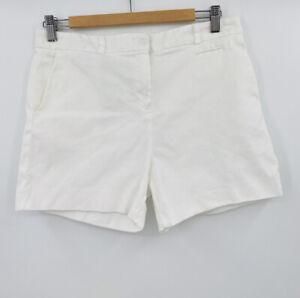 Lacoste Blanco Pantalones Cortos Para Mujer Talla 38 Ebay